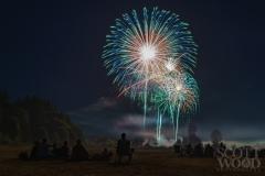 Tumwater Valley fireworks 2015